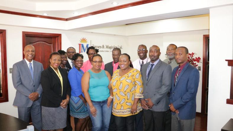 James & Maginley Ltd. donates EC$50,000 to hurricane relief efforts for Barbuda & Dominica
